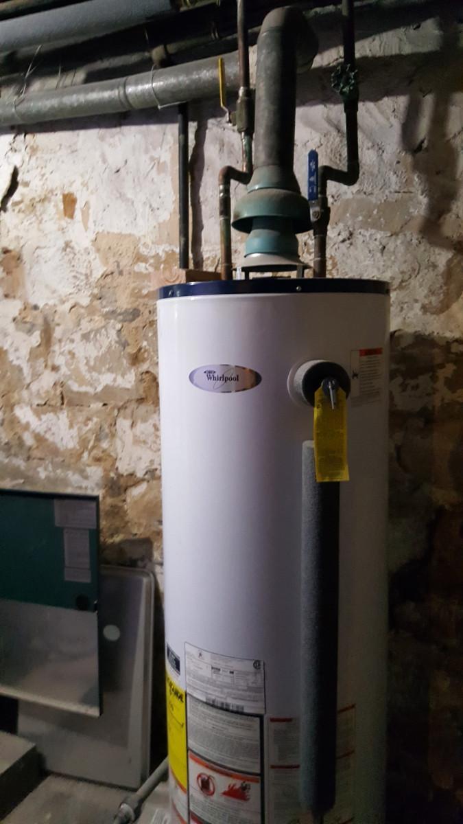 40 Gallon Conventional Hot Water Heater Staten Island Plumber Boiler Repair Installation